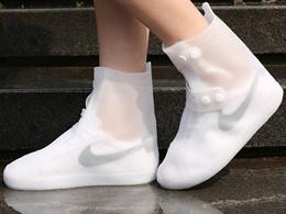 鞋套防水雨天防滑加厚耐磨底成人雨鞋套男女防雨下雨仿硅胶水鞋套