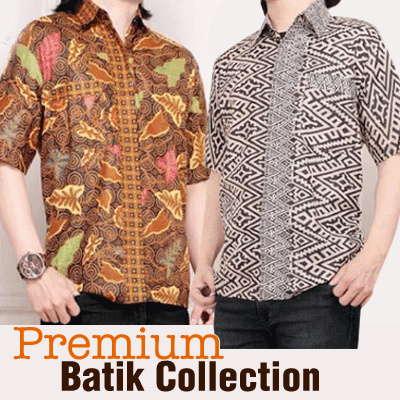 Kemaja Batik Premium Collection Deals for only Rp79.000 instead of Rp79.000