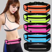 Sports Training bicycle Running Expandable Waist Pouch Belt Single  bag Sports Running elastic waist