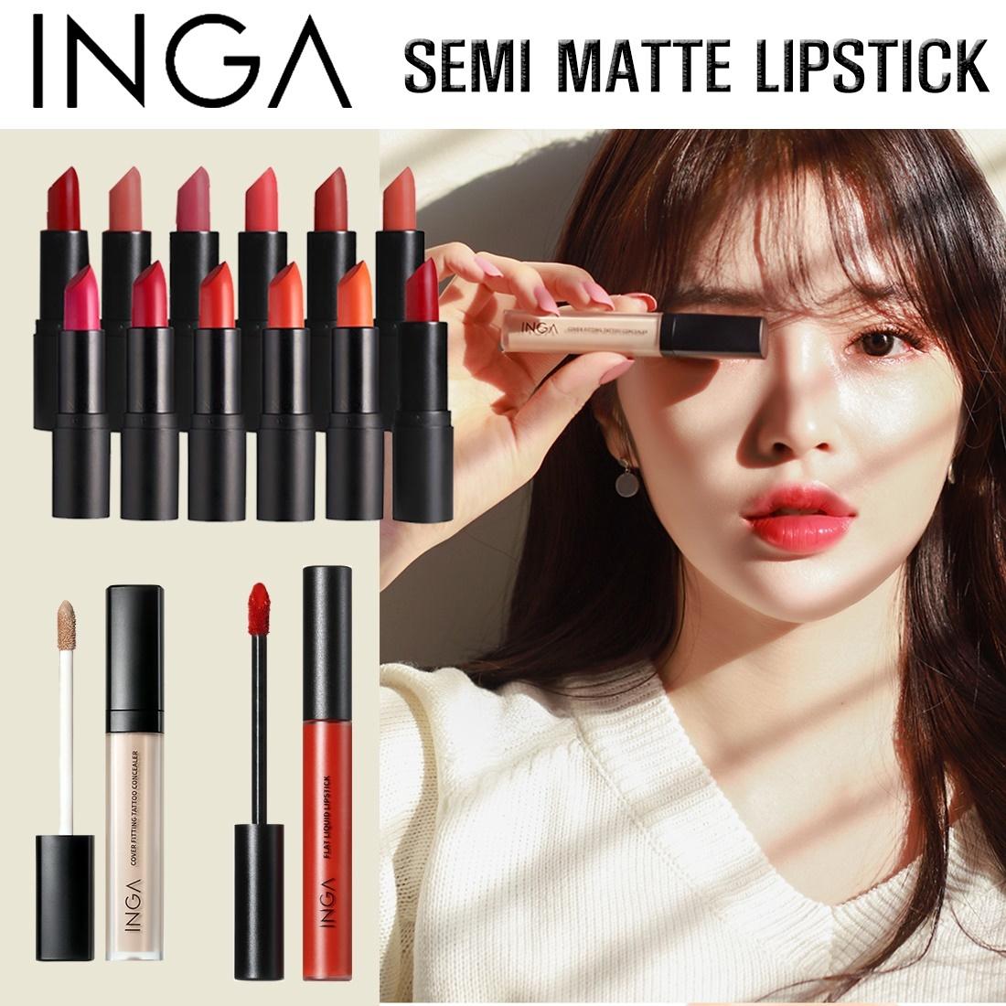 Qoo10 Inga Matte Lipstick Cosmetics