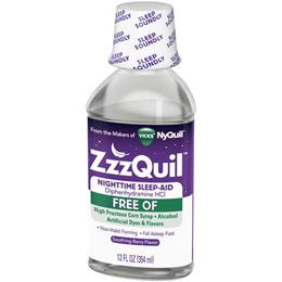 zzzQuil 지퀼 수면보조  액상형 72정 48정