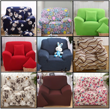 [JTKIDDO]★Universal Elastic Sofa Cover Cushion/L Shape/Couch/bed/cloth FREE Pillow Cover