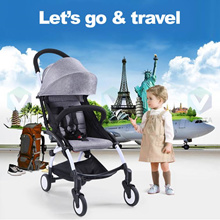 【B•Smooth】 Portable Stroller.The Only Stroller that can bring on plane.mini baby Stroller carrier