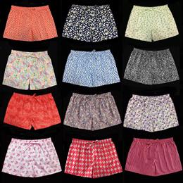 Women Pyjamas shorts/Ladies boxers /Women Home shorts (size S/ M) 100% cotton fabrics