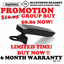 (CHEAPEST) Remax T9 Bluetooth Headset