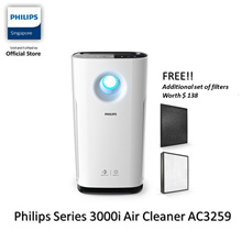 PHILIPS Series 3000i Air Purifier AC3259/30 FREE Filters set FY3432+FY3433