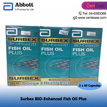 ABBOTT Surbex BIO-Enhanced Fish Oil Plus - 3 x 60 Capsules