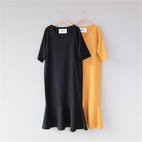 イブワンピース1027 new 無地ワンピース/ワンピース/韓国ファッション