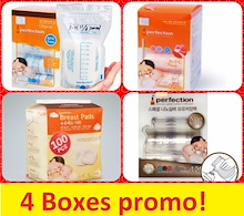 4 boxes promo! Made in Korea Jaco Perfection Breast Milk bagpropromo