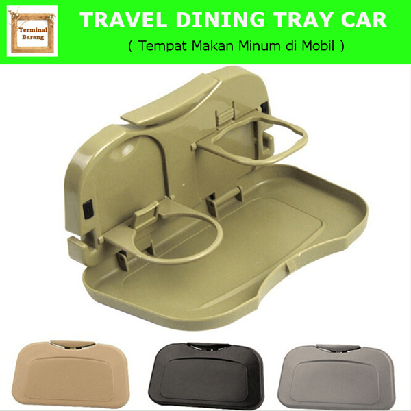 CA007 TRAVEL DINING TRAY / CAR SEAT TRAY/TEMPAT MAKAN MINUM DI MOBIL Deals for only Rp33.500 instead of Rp33.500