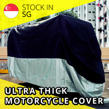 [MOTOMALL]  ULTRA THICK BIKE MOTORCYCLE COVER / 210D OXFORD / HIGH QUALITY / WATERPROOF / SG SELLER