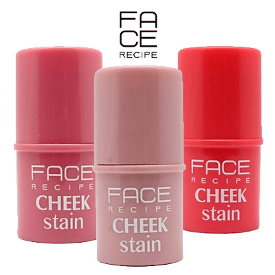 FACE RECIPE CHEECK STAIN Collection Deals for only Rp9.900 instead of Rp30.000