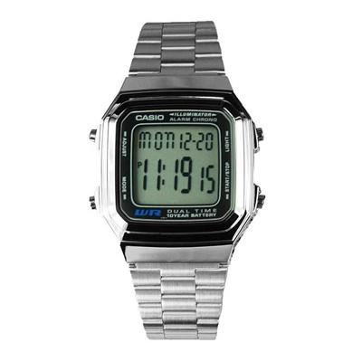 532655e8382 Qoo10 - CASIO VINTAGE A178WA-1ADF SILVER MENS WATCH   Watch   Jewelry