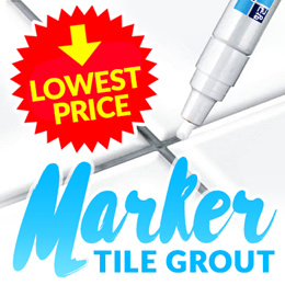 ★BUY 1 GET 1 FREE★Bathroom Tile Grout Marker★Clean and whiten the spaces between tiles!