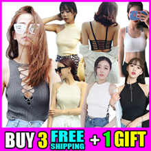 ▥2018 New Arrivals▤Korean Style Sleeveless T-shirt * Free shipping▥Buy 3 Get 1 Free ★Unique Styles