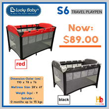 Lucky Baby S6 Travel Playpen