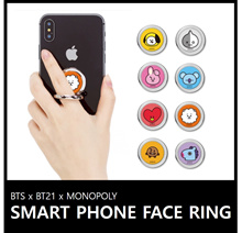 [ BT21×MONOPOLY ]  BT21 SMART FACE RING