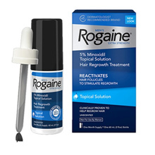 [Rogaine] Man Rogain Solution 5% Minoxidil Tropical Solution Hair Restoration Treatment