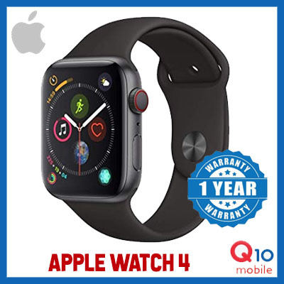 [Quube Promo] Apple Watch Sports Series 4 / 40mm 44mm available / Black and White available Deals for only S$698 instead of S$698