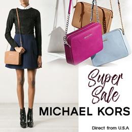 [_※GRAB 20$ COUPON※_super sale_]Michael Kors Jet Set/Kiera Official Genuine / bag / cross Crossbody