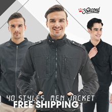 [3Second] Men - Jacket - Sweater - Hoodie - 40 styles available