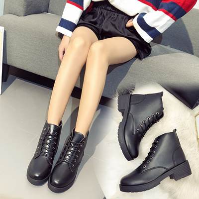 d83dd234cb1d2 Qoo10 - Womens Wedge Ankle Boots Black Shoes Pyramid Studded Booties 4 12  In Platform Search Results   (Q·Ranking): Items now on sale at qoo10.sg