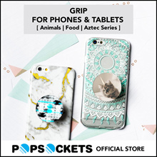 [PopSockets Official Store] Grip For Phones and Tablets Animals/Food/Aztec Series