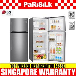 LG GT-B4387PZ Top Freezer Refrigerator (438L) - Singapore Warranty