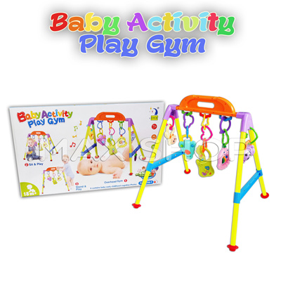 Baby Activity Play Gym   Mainan Bayi Music Gym   Melatih Motorik Anak 3dfb2c6c43