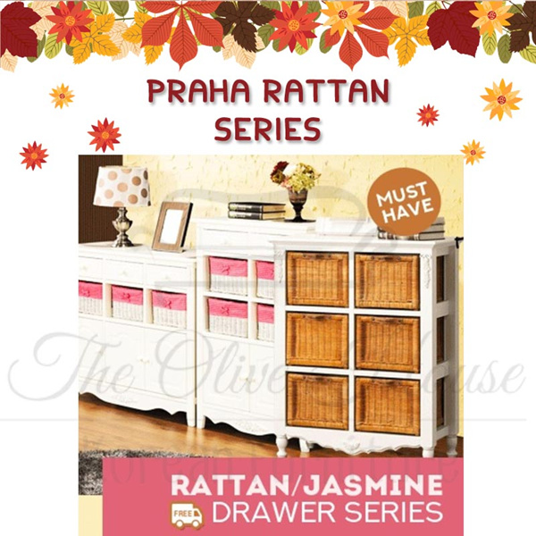 free shipping jawa bali/Jasmine Drawers Collections_8 Drawers / 9 Drawers/praha combi collection Deals for only Rp1.590.000 instead of Rp1.590.000