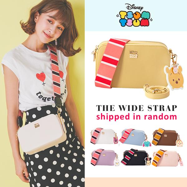 Gracegift-Disney Tsum Tsum shoulder strap 2 ways bag/Taiwan Fashion