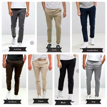 Celana Panjang Pria Chino / Celana Panjang Cowok Kekinian