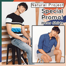 [Natural Project] Mens Shirt | T- Shirts | Promotions |