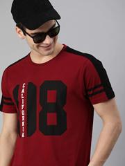 Maroon 08 Print Tshirt