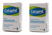 Cetaphil Gentle Cleansing Bar Antibacterial Cleansing Bar 4.5oz. 100% Authentic from USA.