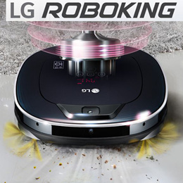 LG roboking Turbo R75 Mop +sucked(removable drawer) / auto recharge Charging time: 3 hours / operating time: 1 hour 40 minutes / Li-ion New