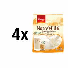 [BUNDLE OF 4]SUPER Nutremill SoyMilk Powder NO SUGAR ADDED