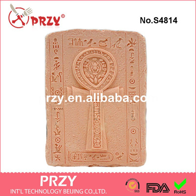 Qoo10 Silica Gel Ankh 2d Silicone Soaps Mold Food Grade Cross
