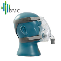 BMC FM2 Full Face Mask  With Headgear For CPAP Machine Sleep Health Care Size SML Snoring Therapy In