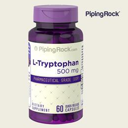 PipingRock 트립토판 Tryptophan 500mg 60캡슐