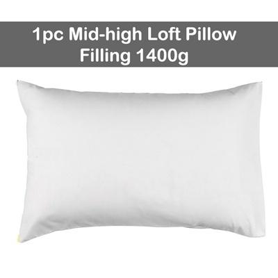 1pc Mid-high Loft (filling 1400g)