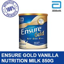 Ensure Gold Vanilla 850g (New Stock) 【APPLY COUPON SAVE MORE】