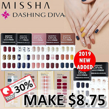 💕2019 NEW ADDED💕 NO OPTION PRICE [ MISSHA x DASHING DIVA ]★EXCLUSIVE DESIGN★MAGIC PRESS|GEL STRIP