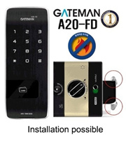 iRevo Gateman A20-CH / A20-FD Keyless Digital Doorlock An-Ti Fire  / Local Installation Service