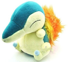 High quality Pokemon toy Pikachu Soft Stuffed Plush Doll New Japanese anime --15CM 6 Cyndaqui toys