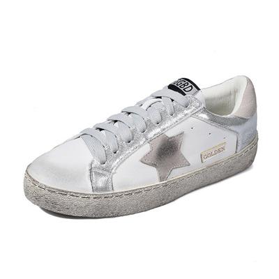 wholesale dealer da57e 454af Golden Goose Superstar Casual Shoes Genuine Leather Men Women Scarpe  Breathe Shoes Woman