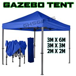 BRAND NEW Gazebo Tent/Canopy/ ✮3m x 6m / School Event / Gathering / Family / Beach / BBQ