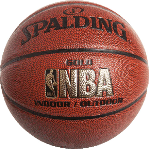 Size 6 Spalding Gold NBA Basketball Game Ball Indoor Outdoor Local Storage AU