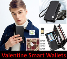 European Smart Quality Leather Sim Card Travel Wallet Keychain Holder Local Seller Ready Stock