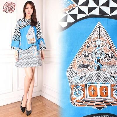 Midi Dress Miranda Batik Tunic